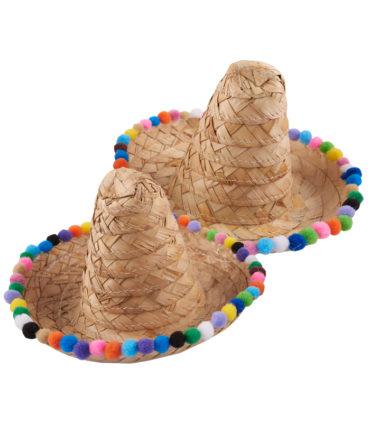 Servilletero sombrero zapata de palma 15 cm