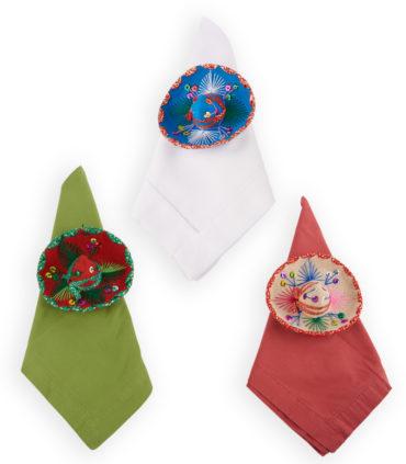 Servilletero sombreros charros 15 cm idea