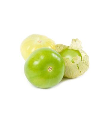 Tomatillos verdes frescos