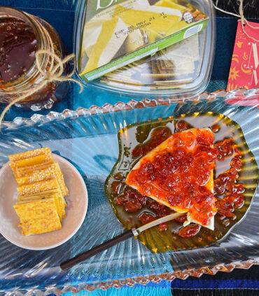 Idea kit de mermelada de chile, queso y caladas