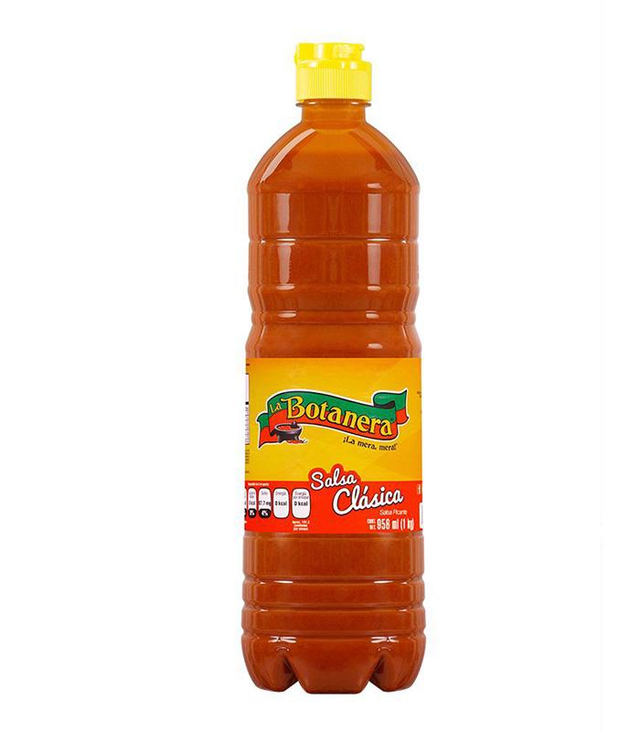 Salsa la botanera clásica 956 ml