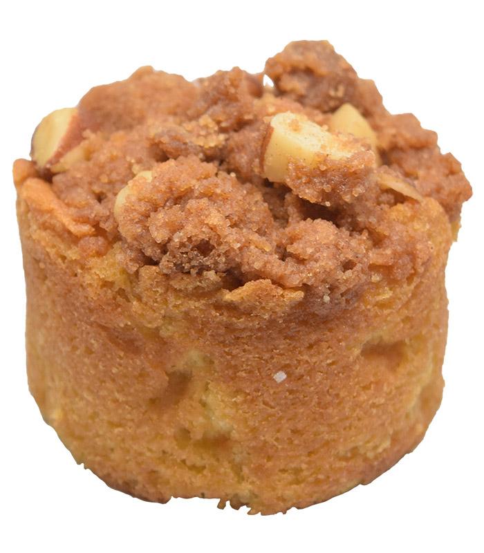 Torta de manzana canela crumble